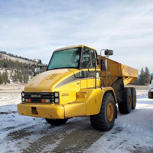 Bearpaw Earth Works - Rock Truck